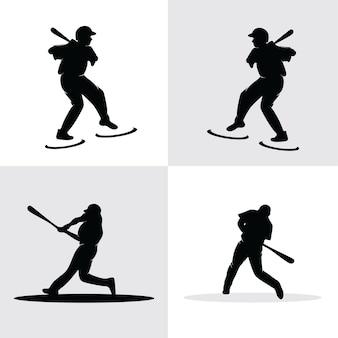 Verzamelset voor honkbalspelers