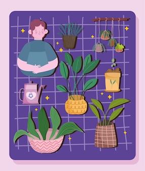 Verzorgingsset voor kamerplanten
