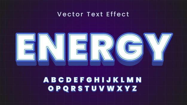 Vet en elegant teksteffect
