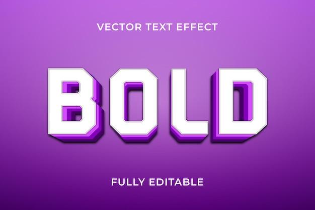 Vet teksteffect