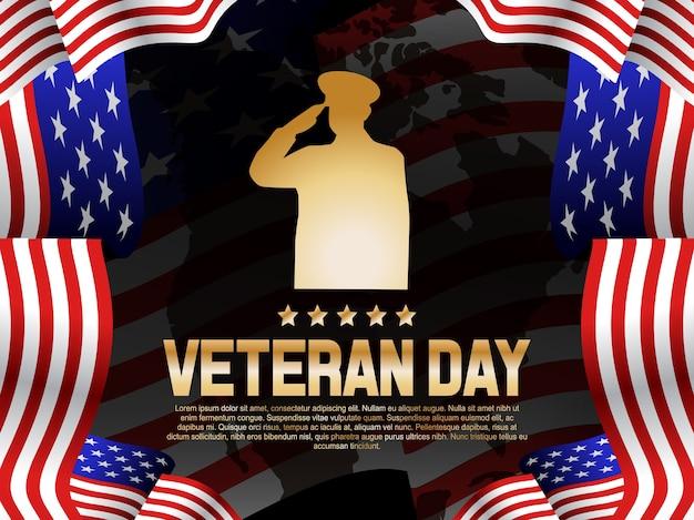 Veteran day illustration