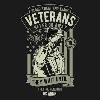 Veteranen badge