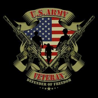 Veteranen van het amerikaanse leger