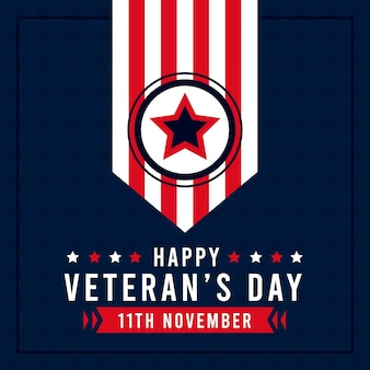 Veterans day illustratie