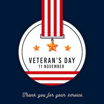Veterans day-stijl