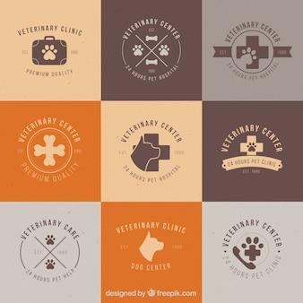 Veterinaire kliniek logos