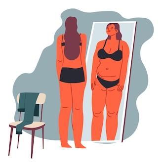 Vetfobie angst voor zwaarlijvigheid psychologische problemen