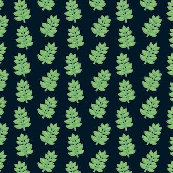 Vetplant naadloze patroon