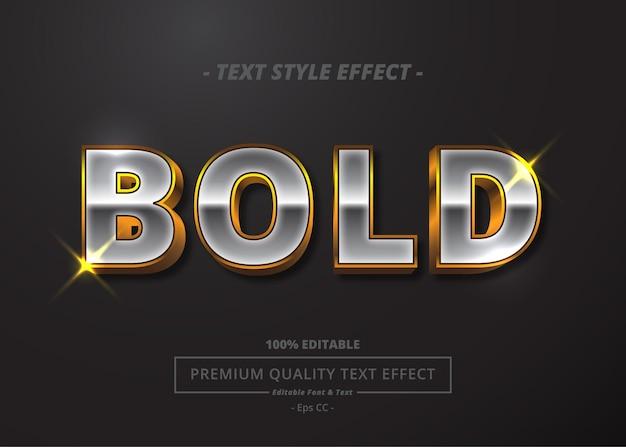 Vette vector tekst stijl effect