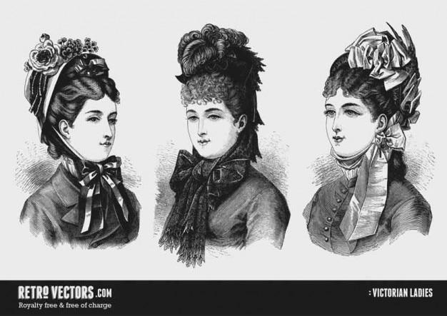 Victoriaanse dames 2