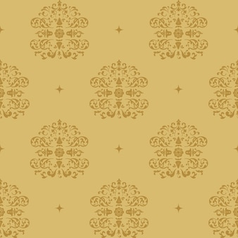 Victoriaanse koninklijke achtergrond. patroon in barokke stijl met vintage element.