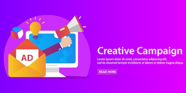 Video en creatieve marketing, financieel marktonderzoek.