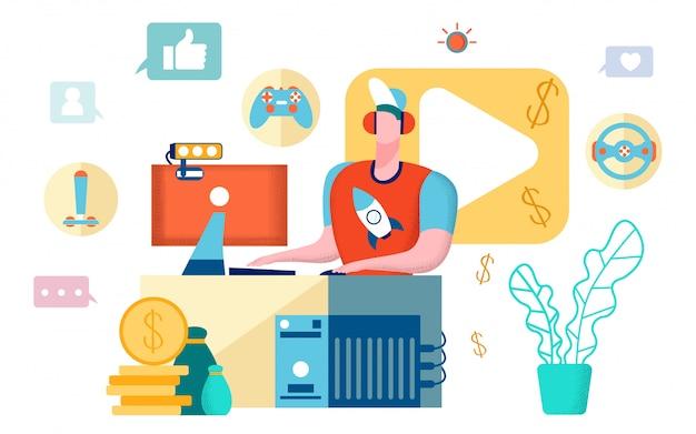 Video gameblogger