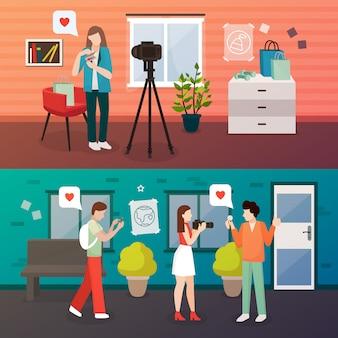 Videoblog composities maken