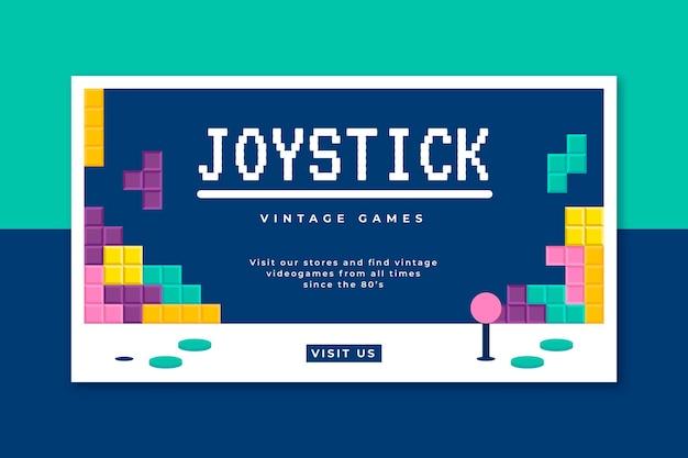 Videogame banner blog