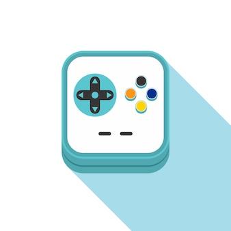 Videogame pictogram thema vector kunst illustratie