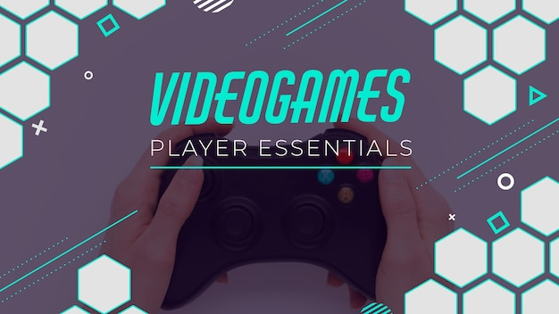Videogame youtube-miniatuur