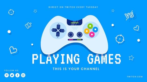 Videogame youtube-omslag