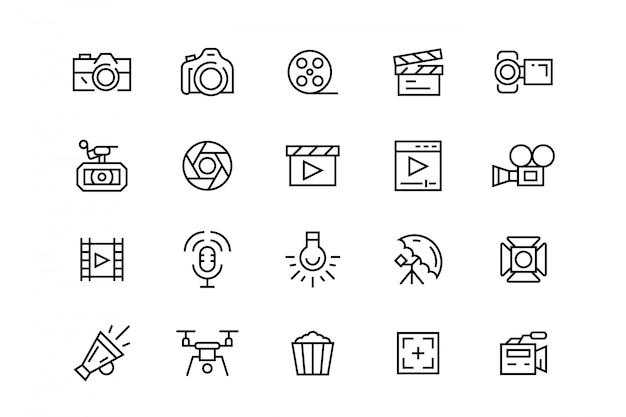 Videografie pictogrammen
