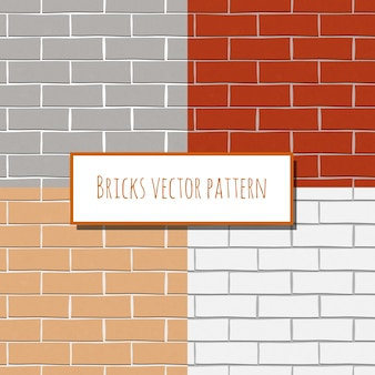 Vier bakstenen muren