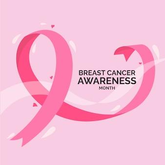 Vier de voorlichtingsmaand van borstkanker