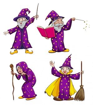Vier heksen