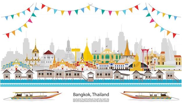 Vier het in bangkok en in heel thailand