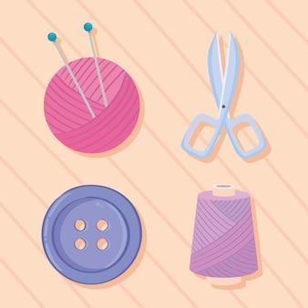 Vier iconen breien