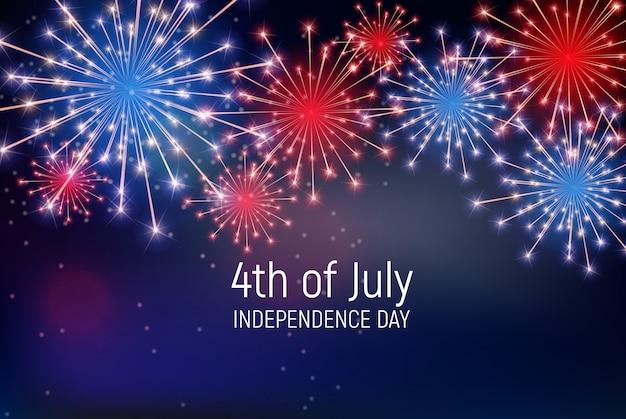 Vierde juli, de onafhankelijkheidsdag van de verenigde staten