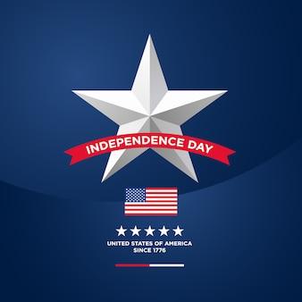 Vierde van juli onafhankelijkheidsdag van de vs.