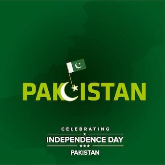 Vierende onafhankelijkheidsdag van pakistan