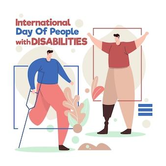 Viering van de dag van mensen met een handicap