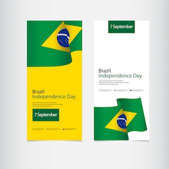 Viering van de onafhankelijkheid van brazilië dag