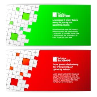 Vierkante kaart