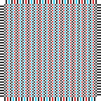 Vierkante patroon geometrische eenvoudige achtergrond creatieve vectorillustratie