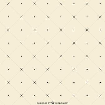 Vierkanten patroon in retro stijl