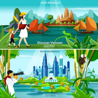 Vietnam en maleisië reissamenstellingen