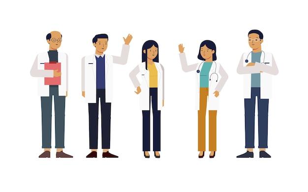 Vijf goede artsen karakter