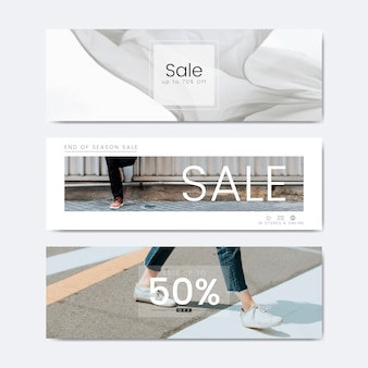 Vijftig procent korting op de verkoop