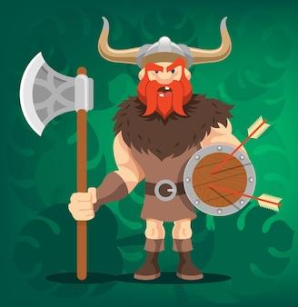 Viking cartoon afbeelding