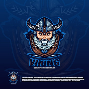 Viking hoofd logo