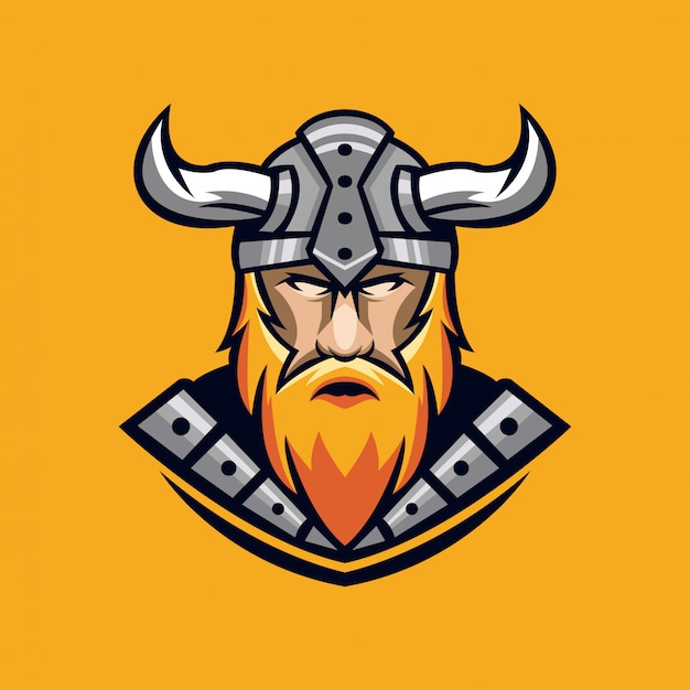 Viking logo ontwerp