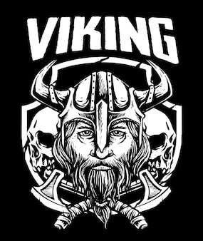 Viking-schedel