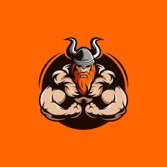 Viking spieren illustratie karakter