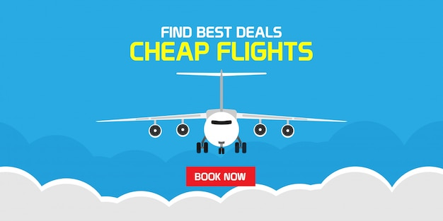Vind de beste deals goedkope vlucht online reizen vliegtuig illustratie. zakelijke boeking service reis vakantie reservering. wereldkaart luchtvaartmaatschappij