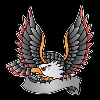 Vintage adelaar logo