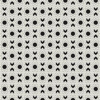 Vintage arabisch patroon