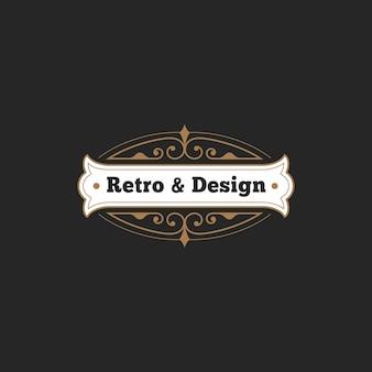 Vintage badge-logo