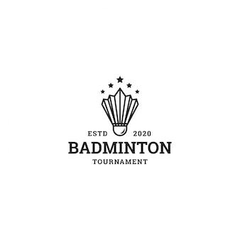 Vintage badminton logo