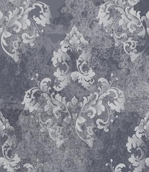 Vintage barokke kaart achtergrond